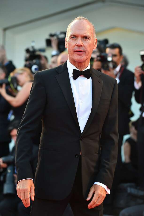 "Michael Keaton arrives for  the screening of ""Birdman"" Wednesday in Venice, Italy. Photo: Gabriel Bouys, AFP/Getty Images"