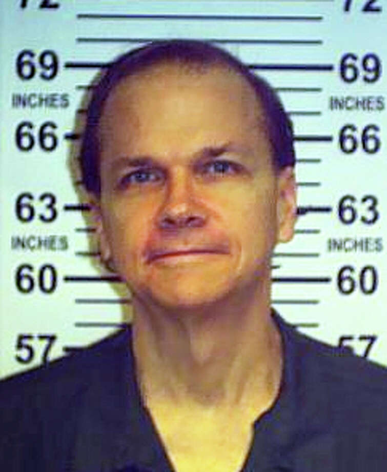 This June 1, 2013 photo provided by the New York State Department of Corrections shows Mark David Chapman at the Wende Correctional Facility in Alden, N.Y. Chapman, who killed John Lennon in 1980, was denied release from prison in his eighth appearance before a parole board, New York corrections officials said Friday, Aug. 22, 2012. Chapman shot Lennon in December 1980 outside the Manhattan apartment building where the former Beatle lived. He was sentenced in 1981 to 20 years to life in prison after pleading guilty to second-degree murder. (AP Photo/New York State Department of Corrections) ORG XMIT: NYR101 / New York State Department of Corrections