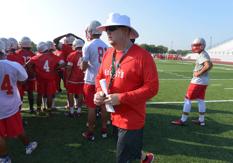 First-year coach Sean McAuliffe, a former Judson player, will make his debut in charge of the Rockets on Friday night. Photo: Robin Jerstad / For The Express-News