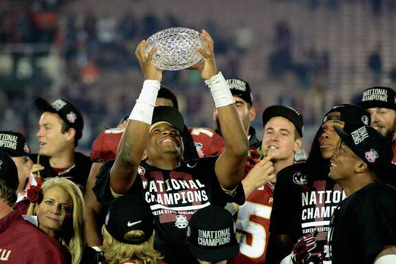 Jameis Winston and his Florida State teammates hoisted the crystal football as the final champions of the BCS era and are expected to be a prime contender for one of the four playoff spots this season.