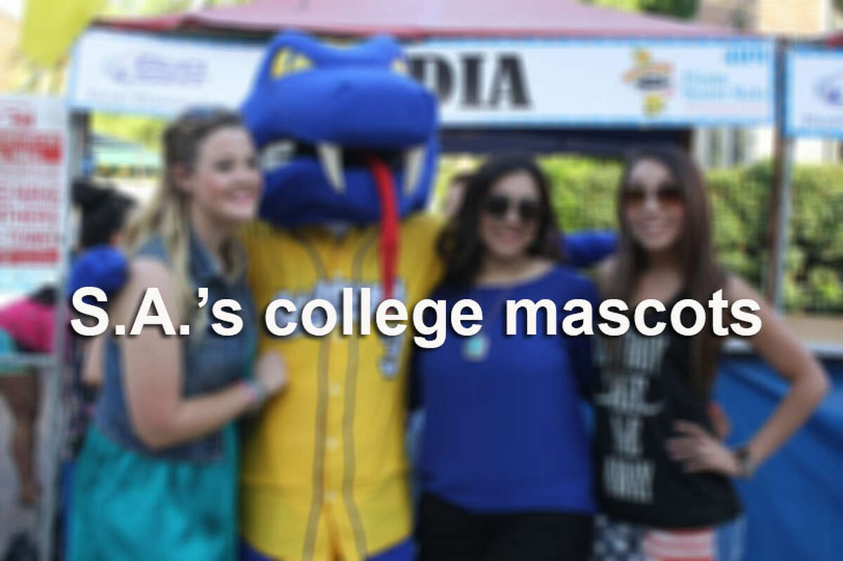 Click through the gallery to compare these college mascots from the Alamo City.