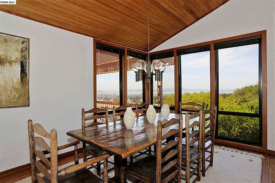 The dining room takes advantage of the views. Photo: EBRD