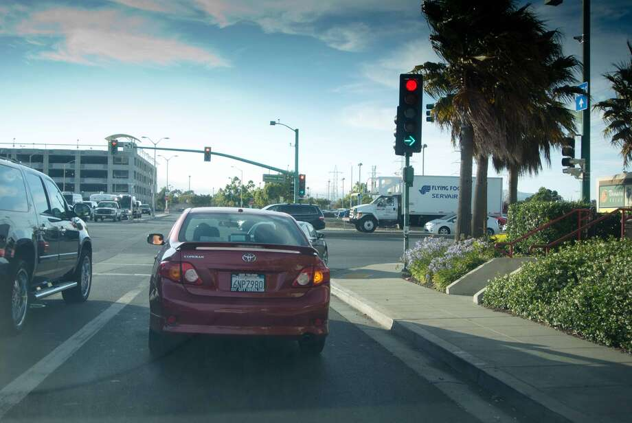 The Right on Red Reluctant:This driver resists making right-on-red turns when it's perfectly safe and legal to proceed. He's especially fearful of camera intersections and refuses to budge until a green arrow appears or the light changes. Traffic backups often result.