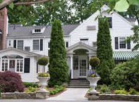 The Roger Sherman Inn, 195 Oenoke Ridge, New Canaan, Conn., hit the market Aug. 22, 2014, with an asking price of $6 million, according to a listing on  Halstead Property's website.