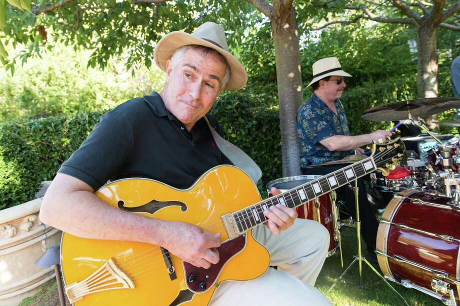 Performers at CASA of San Mateo County's Auxiliary Garden Party on August 24. 2014. Photo: Susana Bates For Drew Altizer, Drew Altizer Photography / DREW ALTIZER PHOTOGRAPHY