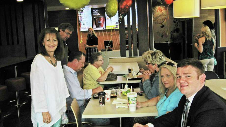 Lumberton's new McDonald's opened on Aug. 27 with much fanfare, including appearances by some of the chain's most famous characters.  Dulce Browning/The Hardin County News