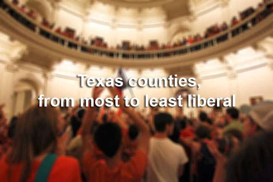 Political science fellow Mark Jones of the James A. Baker III Institute for Public Policy at Rice University, wrote and posted in the institute's online blog Wednesday for the Houston Chronicle a report that ranks the political ideology of Texas' 20 most populous counties from most to least liberal. Click through to see where they ranked. Photo: San Antonio Express-News