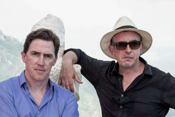 Rob Brydon and Steve Coogan in The Trip to Italy (2014)