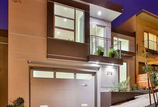213 Los Palmos St., is a newly built three-bedroom in Miraloma Park available for $2.199 million.