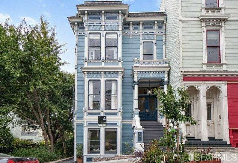 287-291 Page St. sold for $2.8 million, 43% more than it sold for two years ago. Photo: MLS