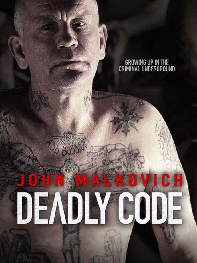 'Deadly Code'- Friends Kolyma and Gagarin come of age in a Siberian crime family where Kolyma's iron-fisted grandfather enforces rules that keep the young men at odds. Their relationship is further tested when they both fall for the same beautiful woman. Available Sept. 10 Photo: Movie Poster