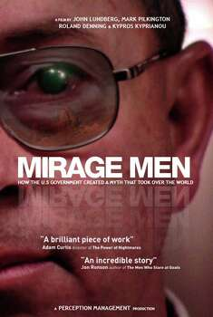 'Mirage Men' - Fascination and controversy regarding UFO sightings have been with us for centuries, but this absorbing documentary offers a disturbing new thesis: that the U.S. military has been distributing false information about them for decades. Available Sept. 1 Photo: Movie Poster