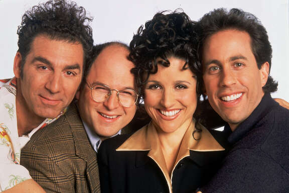 "Is it any surprise that Ken Hoffman believes ""Seinfeld"" is the best TV comedy of all time?The show starring, from left, Michael Richards, Jason Alexander, Julia Louis-Dreyfus and Jerry Seinfeld, won only one Emmy."