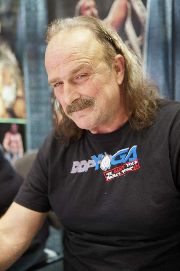 "CHICAGO, IL - APRIL 26: Jake ""The Snake"" Roberts attends the 2013 Chicago Comic and Entertainment Expo at McCormick Place on April 26, 2013 in Chicago, Illinois. (Photo by Jeff Schear/WireImage) Photo: Jeff Schear, Getty Images / 2013 Jeff Schear"