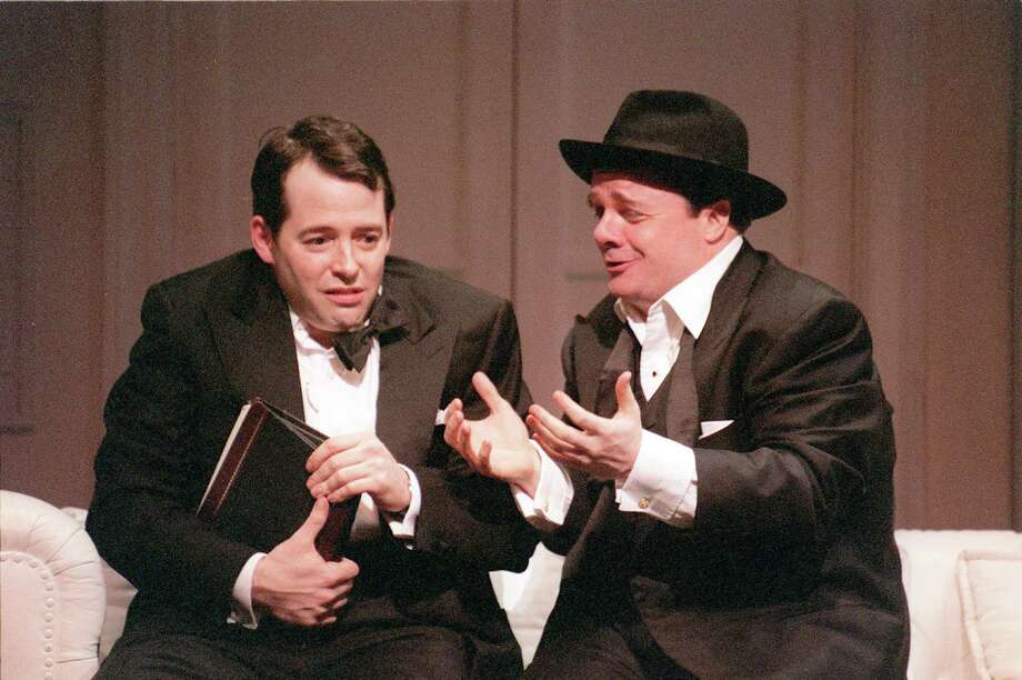 FILE -- Matthew Broderick, left, and Nathan Lane (New York Times) Photo: SARA KRULWICH / NYTNS
