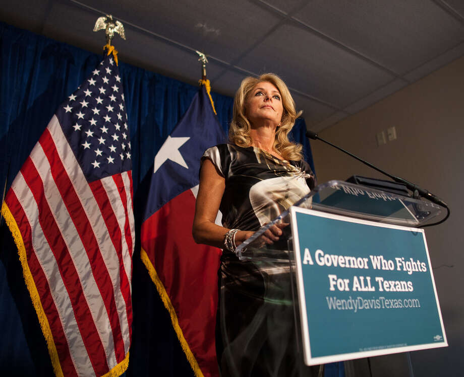 A reader criticizes Wendy Davis, the Democratic gubernatorial candidate, for some of the stances she has taken in her race against Texas Attorney General Greg Abbott. Photo: Courtney Sacco / Associated Press / Odessa American