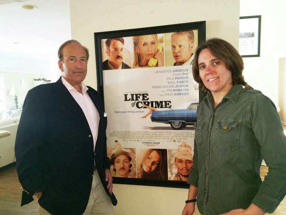 "Greenwich native Charles Bonan has created a new company, Starstream Entertainment, with his partner Kim Leadford. Their Jennifer Aniston-Tim Robbins film ""Life of Crime,"" which opened August 29, was shot in Greenwich and Stamford last year. Photo: Contributed Photo / Connecticut Post Contributed"
