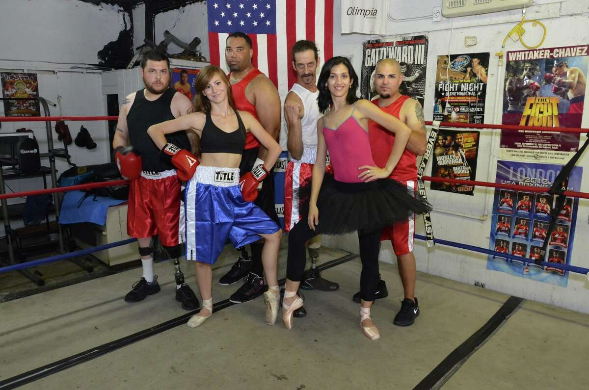 Fighters from the National Amputee Boxing Association teamed up with Ballet Latino de San Antonio for a fundraiser in August.