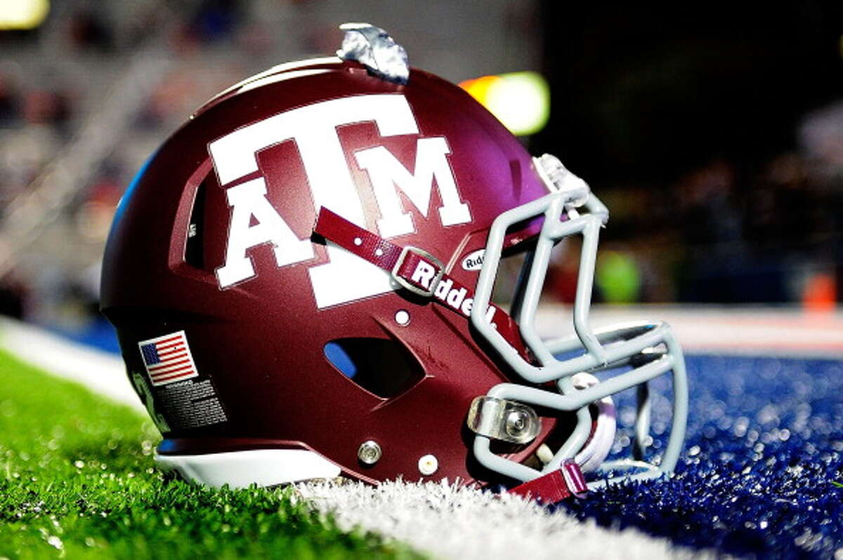 Texas A&M is adding a helmet decal in honor of the thousands impacted by Hurricane Harvey.