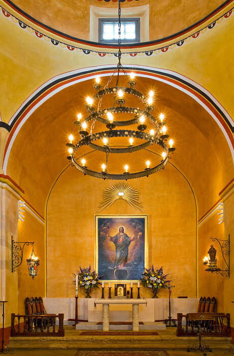 """San Antonio photographer Al Rendon celebrates San Antonio's historic missions in the exhibition """"Timeless Icons"""" at the International Center. Mission Concepción's altar is seen above. Photo: Courtesy Al Rendon"""