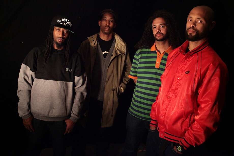Souls of Mischief will perform at the free Hiero Day music and food festival at Oakland's Linden Street Brewery on Monday. Photo: Audible Treats