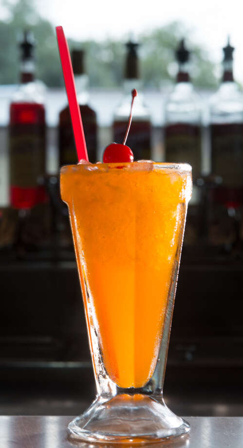 A hand-made orange cream soda from the Olmos Pharmacy. Photo: Robin Jerstad / For The Express-News