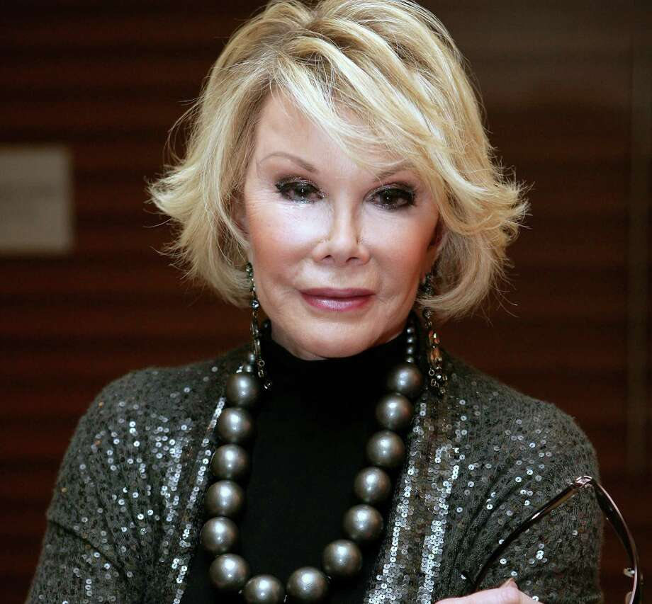 Joan Rivers was taken to Mount Sinai Hospital in New York when she went into cardiac arrest at a doctor's office. Photo: Mike Flokis, Getty Images / 2009 Getty Images