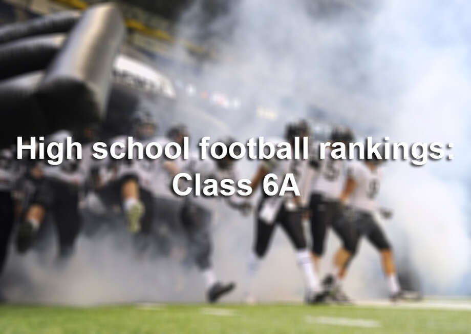 Here are the Week 2 rankings for high school football teams in Class 6A in the San Antonio Express-News Area. Photo: San Antonio Express-News / © 2012 San Antonio Express-News