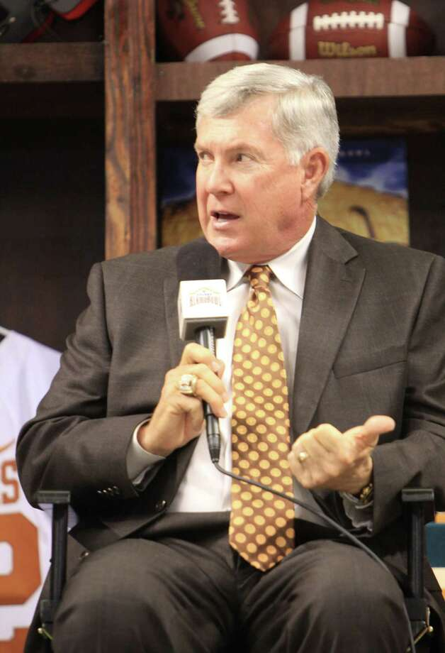 """After coaching, Mack Brown says, """"You can get out and walk and do things. I hadn't seen a movie in forever."""" Photo: Courtesy Photo / Valero Alamo Bowl"""
