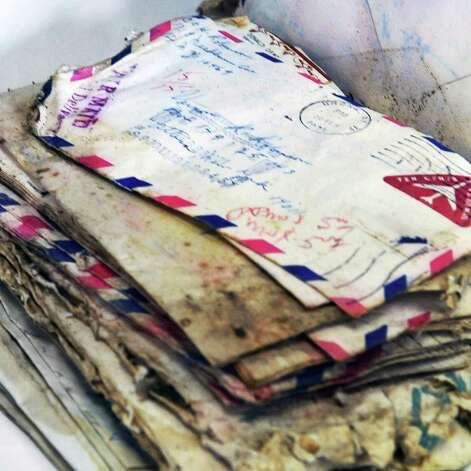 Personal letters of inmates, part of a new trove of archival items from the controversial Attica prison uprising 40 years ago, now at the NYS Museum in Albany Wednesday Sept. 21, 2011.   (John Carl D'Annibale / Times Union) Photo: John Carl D'Annibale / 00014710A