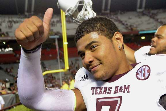 It was all systems go for quarterback Kenny Hill and the A&M offense Thursday night at Williams-Brice Stadium. The Aggies rolled up 52 points and 680 yards against South Carolina.