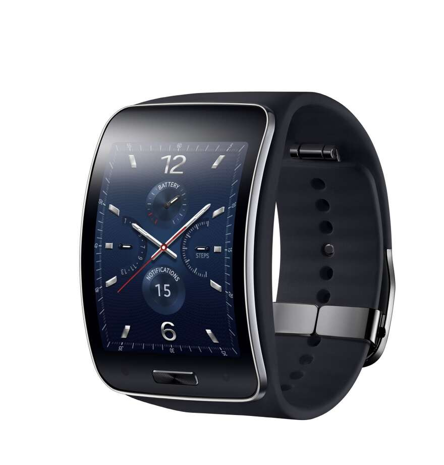The Samsung Gear S will be the first smartwatch with built-in 3G connectivity, freeing it from the requirements of pairing with a smartphone. Photo: Samsung