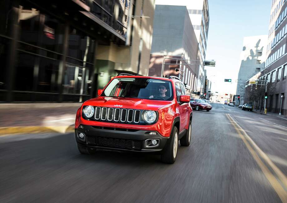 At the front, Renegade is decidedly Jeep with its signature seven-slot grille.