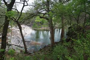 Krause Springs is a popular swimming hole in the Hill Country.