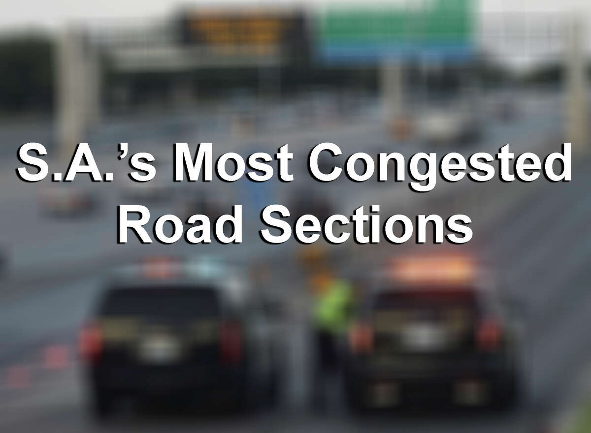 The Texas Transportation Institute has released its annual 100 Most Congested Roadways list and several San Antonio spots have made the list. Click through to find out where.