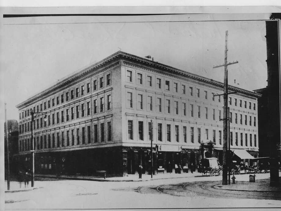 Navy Lt. Frederick Freeman helped save the Montgomery Block, San Francisco's most historic building, from fire after the 1906 earthquake.