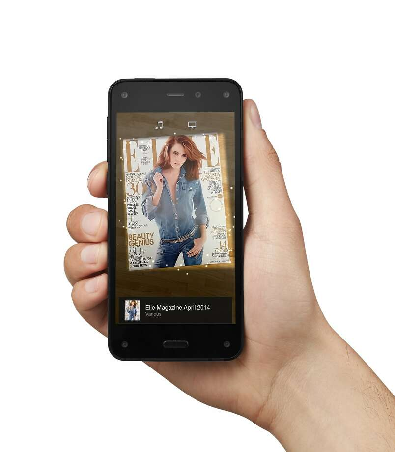A key feature of Amazon's new Fire smartphone is its Firefly service, a visual search feature, which also has modes for music and video. Photo: Associated Press