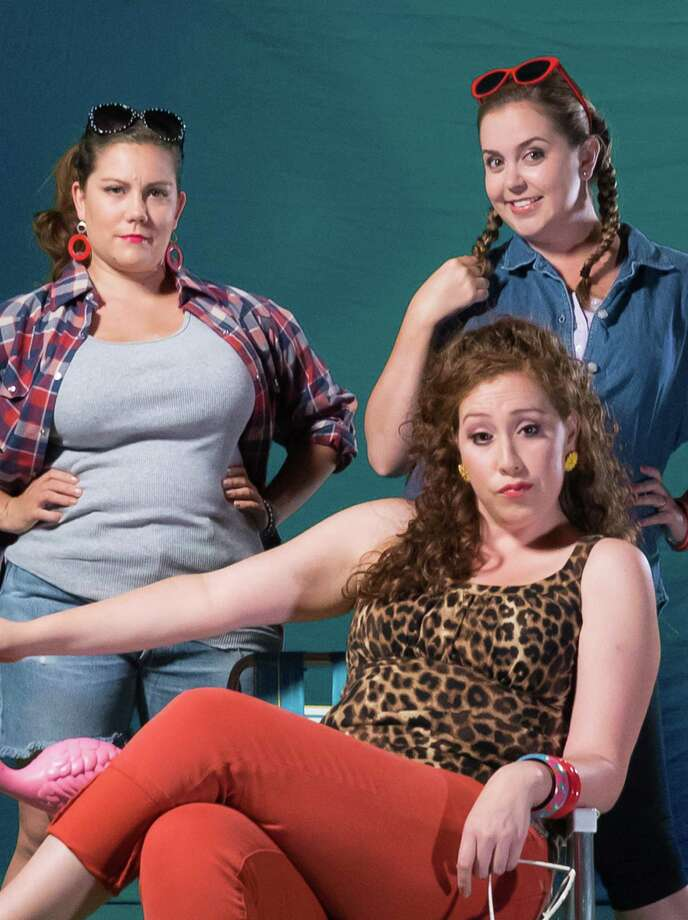 """Mylissa Malley as Lin, Vanessa Alvarez as Betty and Christina Bolognini as Pickles in Los Altos Stage Company's """"The Great American Trailer Park Musical"""" Photo: Chris Peoples / Chris Peoples / ONLINE_YES"""