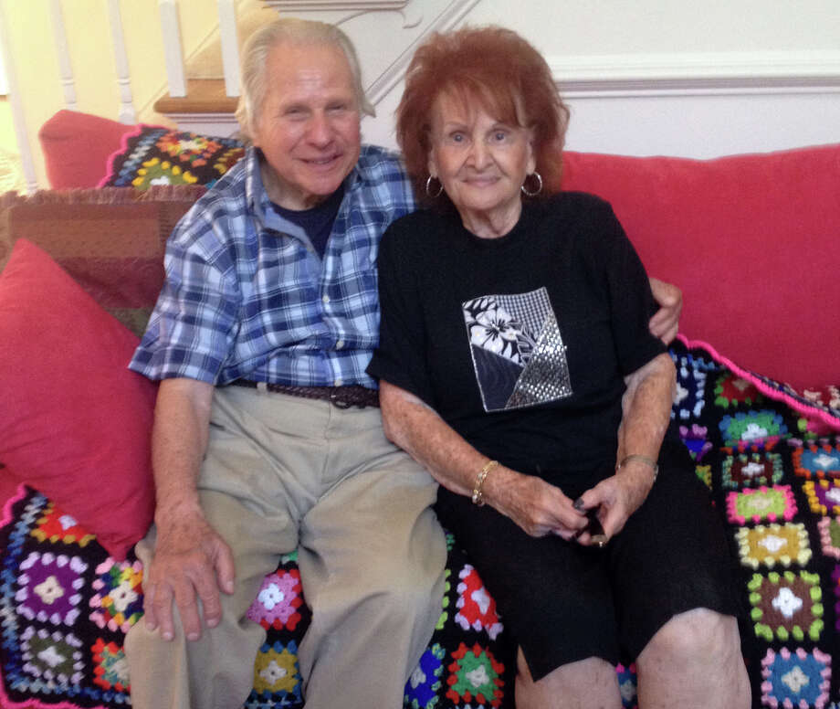 Monte Rabin and his sister Grace Zucker recently reunited after nearly 50 years of not having seen each other. Photo: Contributed Photo, Contributed Photo / Connecticut Post Contributed