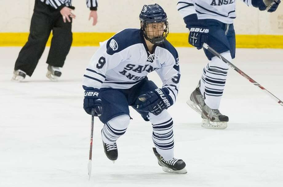 Katy native John Rogeri is entering his sophomore season with the St. Anselm College NCAA Division III hockey team in Manchester, N.H.