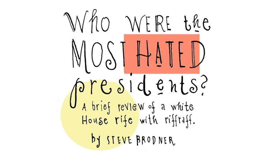 Supporters of Barack Obama often rail that he is the most maligned occupant of the Oval Office ever. Maybe so, but click through this slideshow of drawing by New York illustrator Steve Brodner to see how some of our most revered presidents were treated in their time.— Lois Kazakoff Photo: Steve Brodner, Courtesy