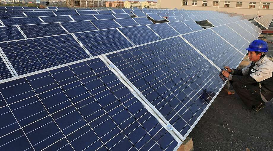 China, Japan and the U.S. will drive much of the growth in solar panels. Photo: Liang Xiaopeng, Associated Press