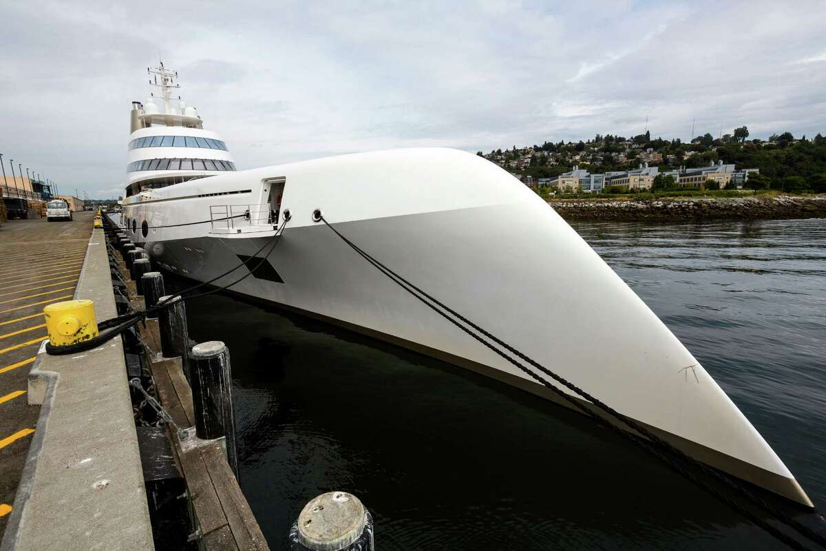One of the world's largest private yachts, simply named