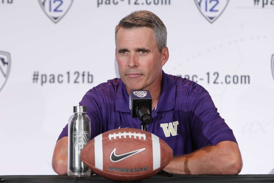 1. Coach Pete makes his debut It's been nearly nine months since Petersen was announced as the Huskies' head coach, and they haven't exactly been uneventful. Petersen and nearly all his staff relocated from Boise to Seattle with their families, and numerous off-field distractions have made the transition eventful, to say the least. Petersen and his staff likely welcome the opportunity to play a meaningful game for the first time in his Washington tenure, and Saturday's matchup against Norm Chow and the Rainbow Warriors will be their first chance to establish their brand of football with the Huskies. Photo: Leon Bennett, Getty Images