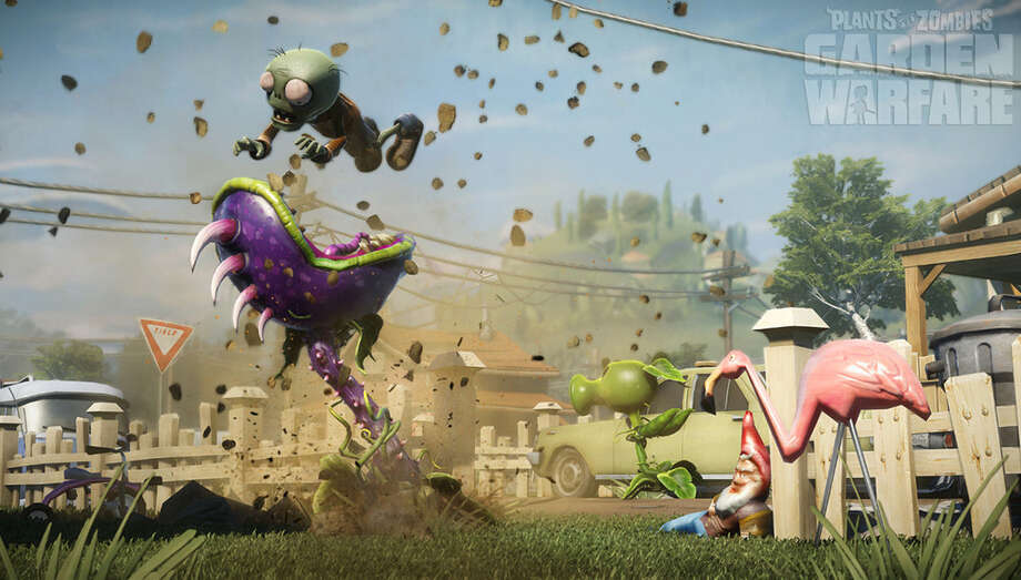 "Humor plays a huge role in ""Plants vs. Zombies: Garden Warfare,"" a quirky shooter that never for a second takes itself seriously or attempts to be artsy or groundbreaking. It is just a simple, fun, game. Photo: EA Games"
