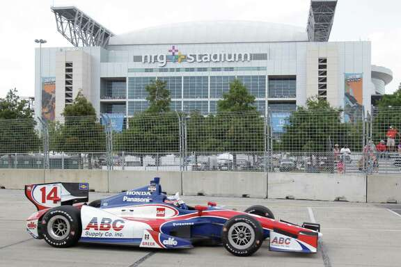 IndyCar driver Takuma Sato and his fellow competitors won't be returning to town for the Grand Prix of Houston in 2015.