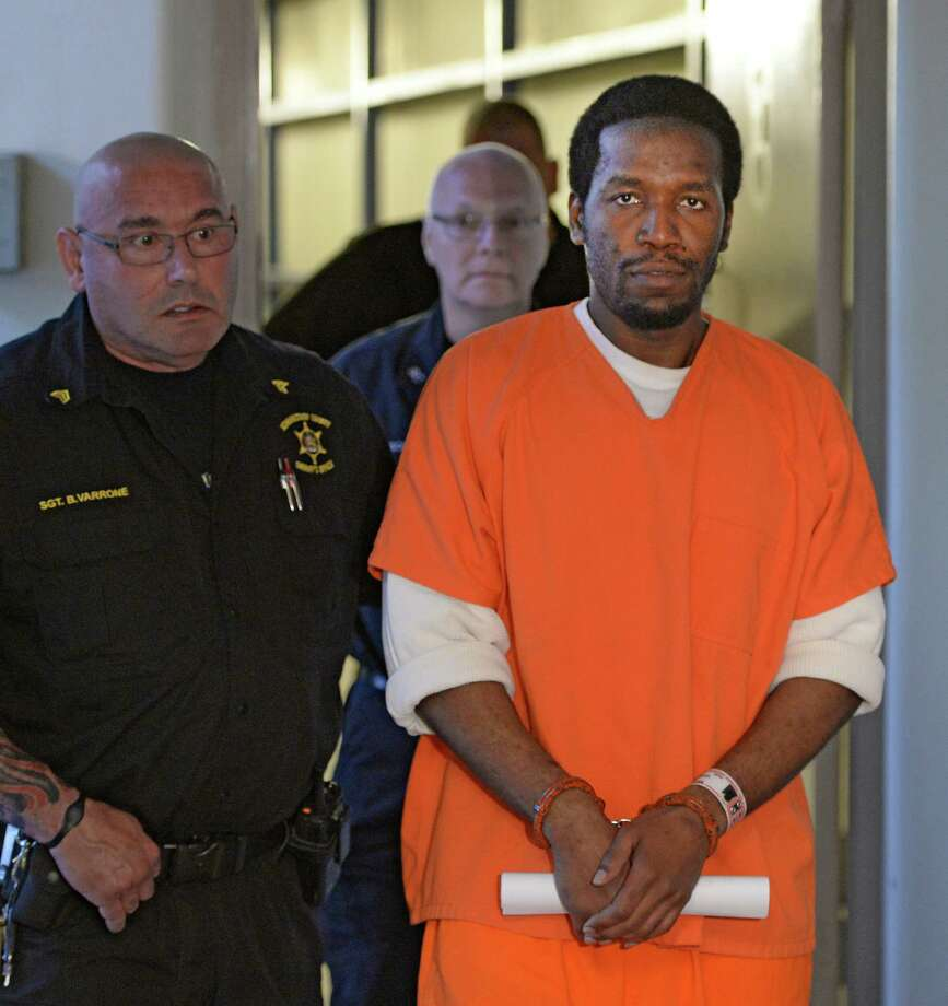 Defendant Michael Briggs is lead to Schenectady County Court Friday morning  Aug. 29 68ccc2b2f