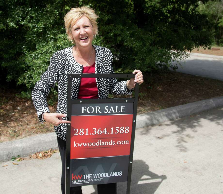 Cindy Hamann has been hired as CEO and team leader of Keller Williams Realty in The Woodlands. Photo: Billy Smith II, Staff / © 2014 Houston Chronicle