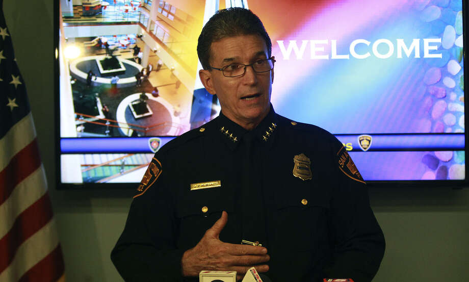 SAPD Chief William McManus Photo: John Davenport / San Antonio Express-News / ©San Antonio Express-News/John Davenport
