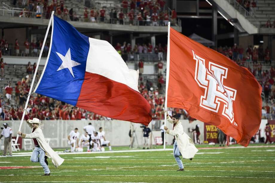 "The Legislature should pressure the presidents of the Big 12 schools to ""step up"" and let the University of Houston into the conference, the chairman of UH's Board of Regents, Tilman Fertitta, said, citing the school's size and Tier One status. Photo: Brett Coomer, Houston Chronicle"